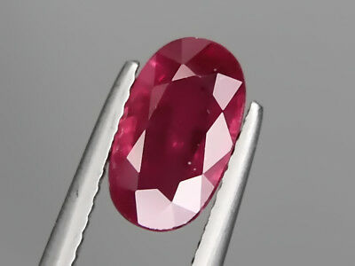 Big Natural Ruby 2.30ct 10x6mm Loose Gemstone Oval Cut