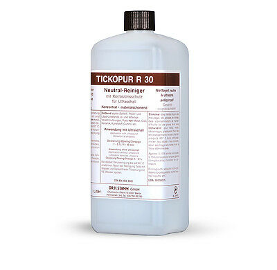 tickopur R 30 neutral-reiniger for Ultrasound 1 ltr. Cleaning Concentrate