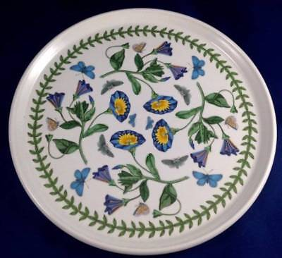 Portmeirion Botanic Garden Cake Pizza Plate Serving Platter Tray Bindweed