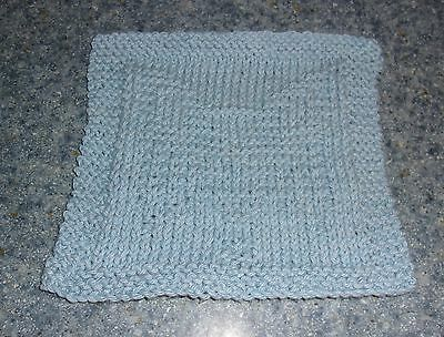 Brand New Blue Papillon Dog Knit Dish Cloth For Cocker Spaniel Rescue Charity