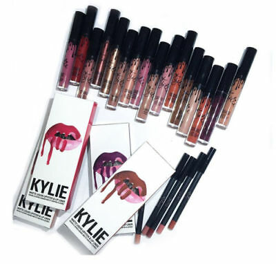 Kilie Jenner Lip Kit Set Liquid Lipstick Matte Lip Liner 19 Shades FAST DISPATCH
