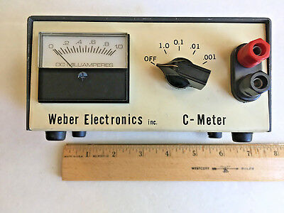Weber Electronics C-Meter (Capacitor Tester)