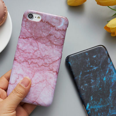Granite Marble Texture Pattern Phone Case Hard PC Cover for iPhone X 8 7 6S Plus