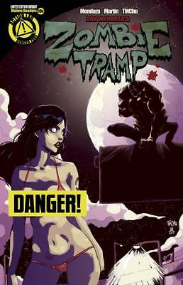 Zombie Tramp 10 VF/NM Action Lab Danger Zone Risque Variant Cover Limited 2000