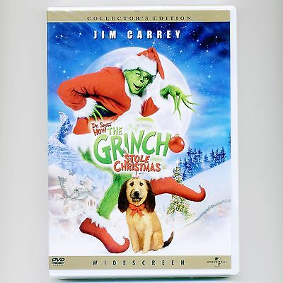 how the grinch stole christmas 2001 pg family movie new dvd jim carrey dr seuss - How The Grinch Stole Christmas Jim Carrey