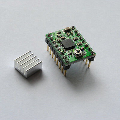 A4988 Stepper Motor Driver + Heatsink / Reprap / 3D Printer / Ramps NEMA 17