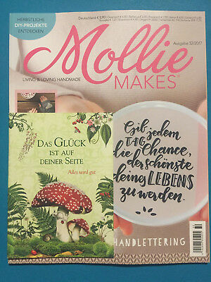 Mollie Makes Living & Loving Handmade Ausgabe 32/2017 ungelesen 1A abs. TOP