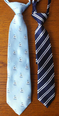 The Childrens Place Boys Infant Toddle Dress Neck Tie lot of 2 6-18mo  & 24mo-4T