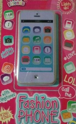 fab friends childs fashion phone lights up Stocking Filler Mobil Phone