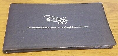 The America-France Charles A. Lindbergh Commemorative PNC First Day Of Issue