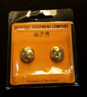 Usmc Marine Corps Gold Button Set For Enlisted