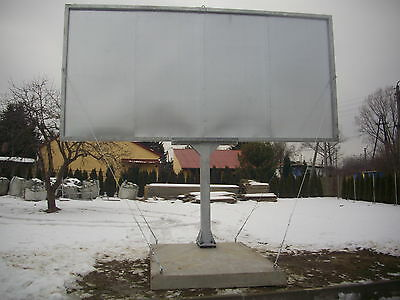 Marketing Advertising non-digital steel billboard FOR SALE 5m x 2.1m any size