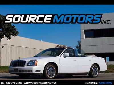 2005 Cadillac DeVille Convertible 2005 Cadillac DeVille Convertible, Leather, Chrome Wheels, White White Walls