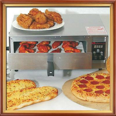 "Wisco Industries Commercial Pizza Oven With Digital Controls 425C 12"" Pizza Easy"