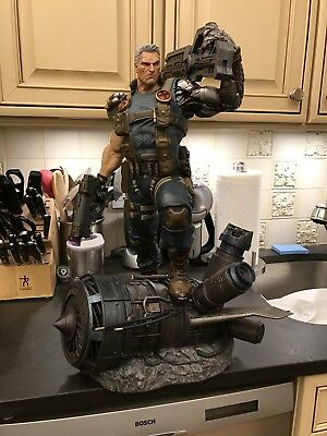 XM STUDIOS CABLE 1/4 STATUE X-MEN. Not sideshow. Not Bowen