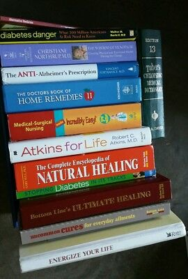 Home Remedies~Health Secrets~Medical Encyclopedia~Healing type~Lot of 13 books