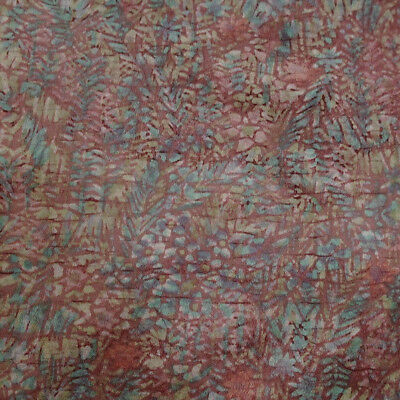 Japanese vintage kimono silk fabric Blossom and Crackle Dye