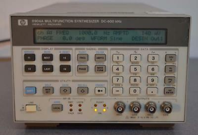 Keysight 8904A Multifunction Synthesizer DC-600 kHz Opts. 1-2-3 & 5 Installed ++