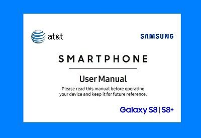Samsung Galaxy S8/S8+ Smartphones User Manual (for AT&T models ATT-G950U/G955U)