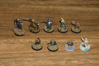 Fellowship of the Rings, Painted | Games Workshop | Lord of the rings