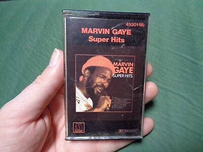 MARVIN GAYE_Super Hits_used cassette_ships from AUS!_zz61_S7