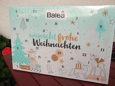 dm adventskalender balea 2017 limitierte ausgabe eur 5. Black Bedroom Furniture Sets. Home Design Ideas