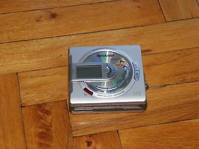 Sharp MD-MS701H Minidisc Recorder - For Recovery or For parts!