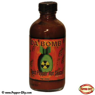 Original Juan - DaBomb Ghost Pepper Chili Sauce - 118g