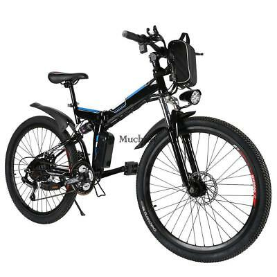 26 zoll 21 gang mountainbike akku e bike scheibenbremsen e. Black Bedroom Furniture Sets. Home Design Ideas