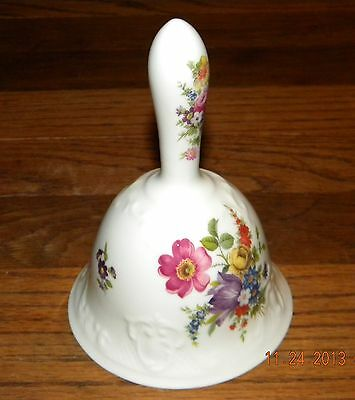 Danbury Mint Hammersley Bell - From Bells of the World's Great Porcelain Houses