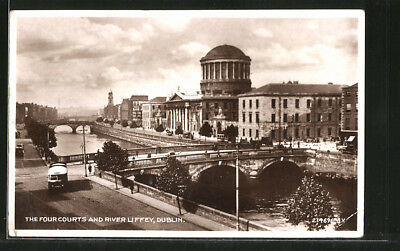 AK Dublin, The Four Courts and River Liffey