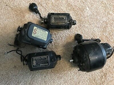 LOT OF FOUR 40 Vintage Sewing Machine Motors Singer Etc 4040 Fascinating Sewing Machine Motors