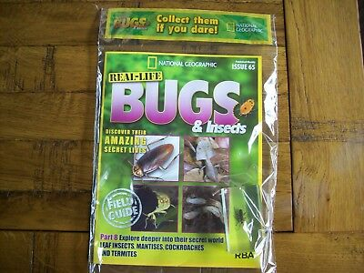 National Geographic Real-life Bugs & Insects magazine Issue 65