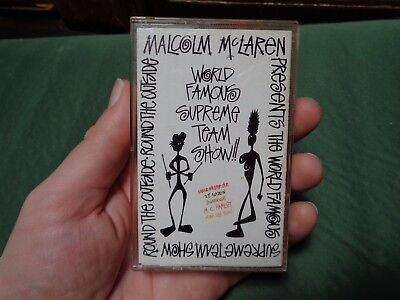 MALCOLM McLAREN_World Famous Supreme Team_used cassette_ships from AUS!_zz61_S4