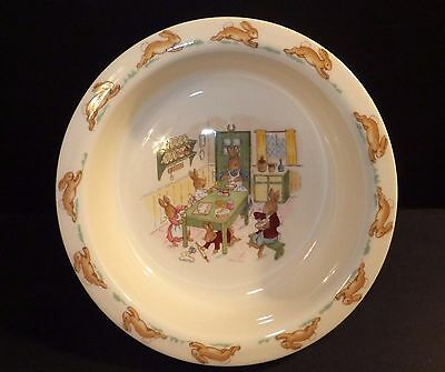 Royal Doulton Bunnykins Traditional Baby Plate Boxed New In Box Kitchen Table