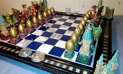Harry Potter - chess, rare second series - figure with Dragons.