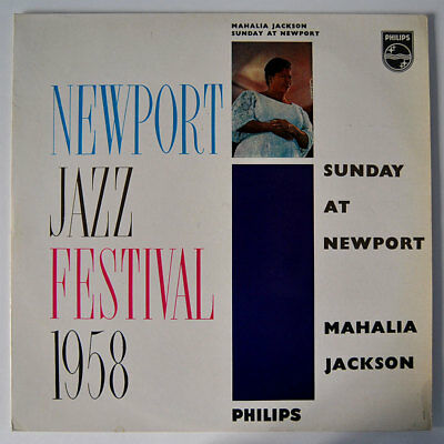 Original LP / Vinyl MAHALIA JACKSON: Sunday At Newport, 1959