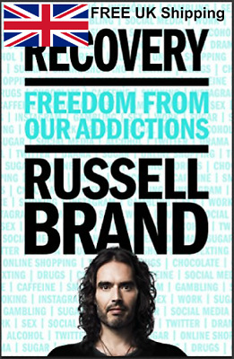 Recovery Freedom From Our Addictions By Russell Brand Hardcover Book About You