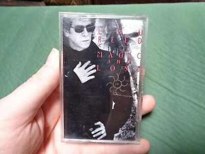 LOU REED_Magic And Loss_used cassette_ships from AUS!_Aussie Pressing_zz61_S6