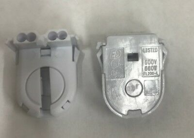 10 Of Leviton Non Shunted Snap In T8 Led Tombstone Lamp