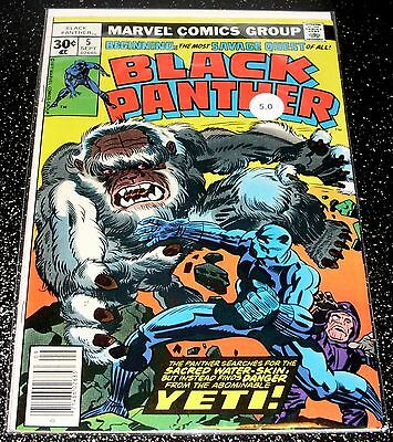 Black Panther 5 (5.0) Marvel Comics