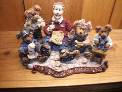 """Boyds Bearstone #227803 T.H.B....Work is Love Made Visible"""", Spec Occ, NEW/Box"""