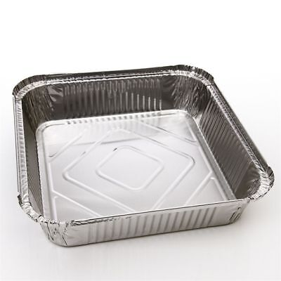 Large Aluminium Catering Foil No9 Food Storage Take Away Containers with Lids