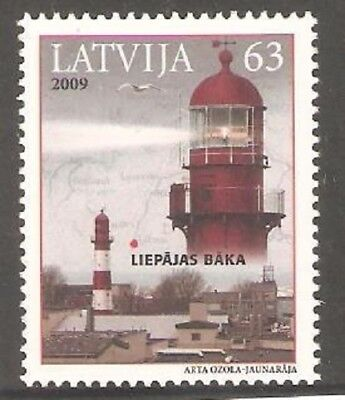 2009  Latvia  -  Sg  762  - Lighthouse -  Umm