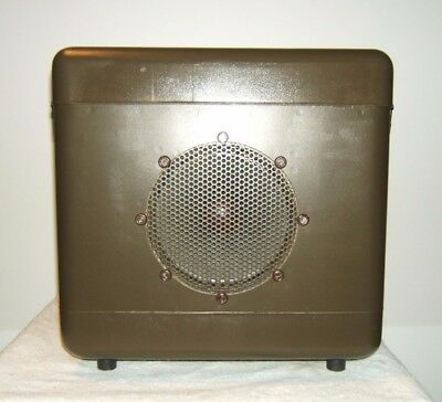 SIGNAL CORPS US ARMY Dynamic LOUDSPEAKER LS-170A VERY CLEAN