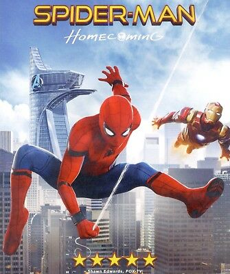 Spider-Man Homecoming 2017 PG-13 movie, new DVD Peter Parker Avengers Tony Stark