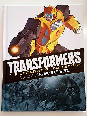Transformers definitive g1 collection volume 39 - Hearts of Steel
