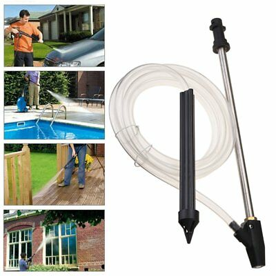 Sand And Wet Blasting Kit Pressure Washer Gun With Nozzle 275cm Tube