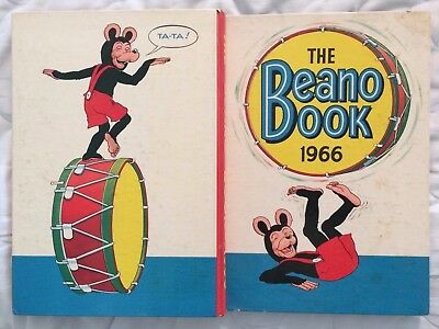 The Beano Book 1966 - vintage comic annual