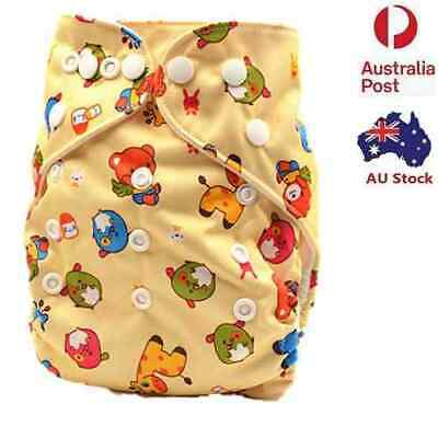 Baby Girl Girly Modern Cloth Nappy Waterproof One Size Fit All Nappies (D51)